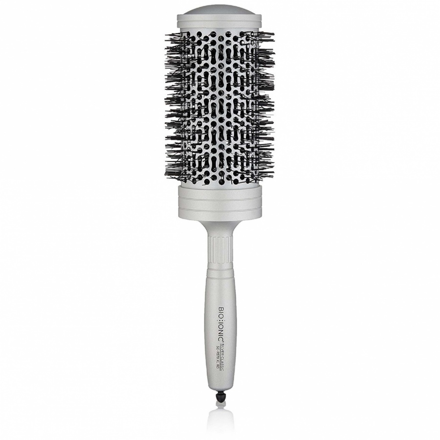 Bio Ionic kefa Silver Classic Brush L, 45 mm