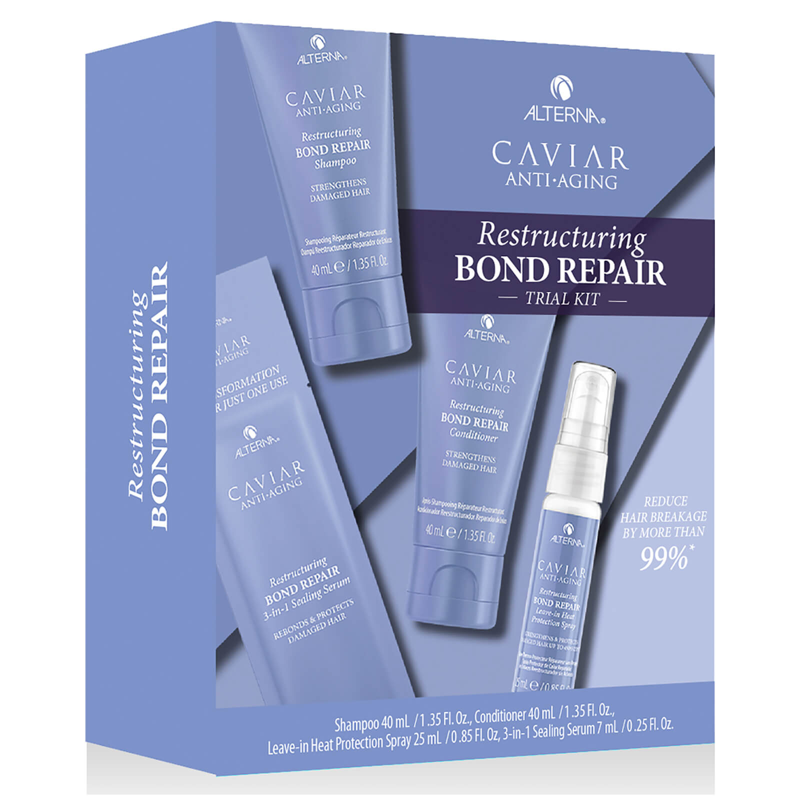 Alterna Caviar Restructuring Bond Repair Trial Kit