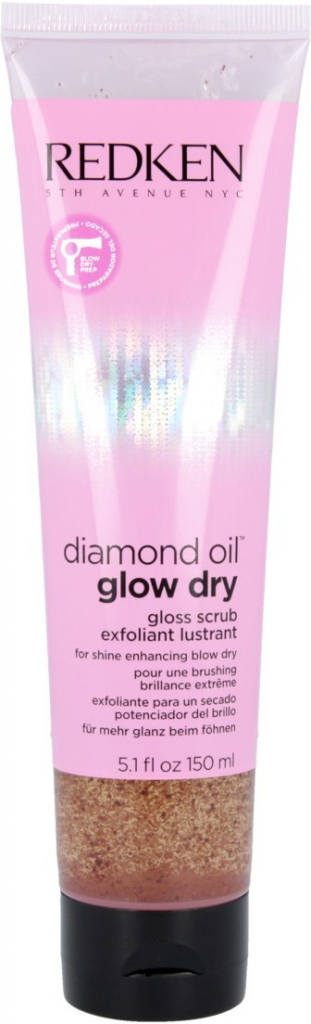 Redken Diamond Oil Glow Dry Gloss Scrub 150 ml